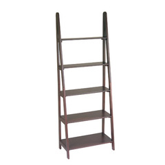 Buy Office Star Ladder Bookcase in Espresso on sale online