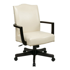 Buy Office Star Morgan Managers Chair in Cream on sale online