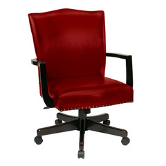 Buy Office Star Morgan Managers Chair in Crimson Red on sale online