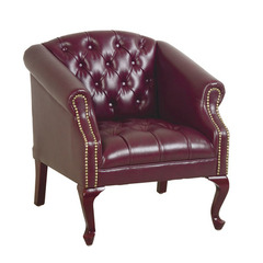 Buy Office Star Queen Ann Traditional Ox Blood Chair on sale online