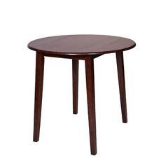 Buy Office Star Westbrook Drop-Leaf Round 39x39 Pub Table in Amaretto on sale online