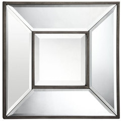 Buy Cooper Classics Olivia 12 Inch Square Mirror (Set of 4) in Aged Bronze on sale online