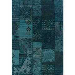 Revival Green Casual Rug - 501G2