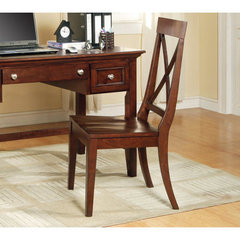 Buy Steve Silver Steve Silver Oslo Side Chair in Cherry on sale online