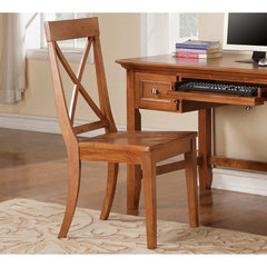 Buy Steve Silver Steve Silver Oslo Side Chair in Oak on sale online