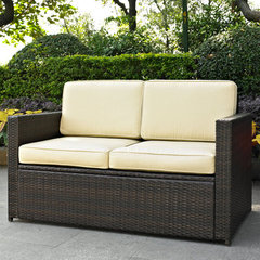 Buy Crosley Furniture Palm Harbor Outdoor Wicker Loveseat on sale online