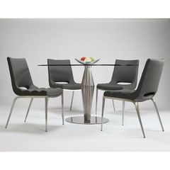 Buy Pastel Furniture Alexandria 5 Piece 48x48 Round Dining Room Set on sale online