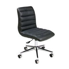 Buy Pastel Furniture Hawthorne 39 Inch Office Chair in Black on sale online
