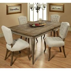 Buy Pastel Furniture Utopia 5 Piece 72x42 Rectangular Dining Room Set on sale online