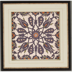 Buy Paragon Persian Tiles III Framed Wall Art (Set of 3) on sale online