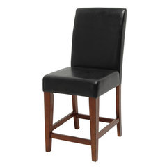 Buy Steve Silver Plato Counter Height Stool in Rich Cherry on sale online