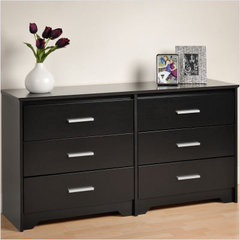 Buy Prepac Coal Harbor 6 Drawer Dresser on sale online