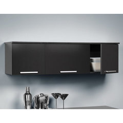 Buy Prepac Coal Harbor Wall Mounted Hutch in Black on sale online