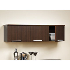 Buy Prepac Coal Harbor Wall Mounted Hutch in Espresso on sale online