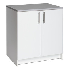 Buy Prepac Elite 32 Inch Base Cabinet in Fresh White on sale online