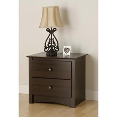 Buy Prepac Fremont 2 Drawer Nightstand on sale online