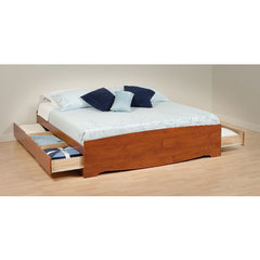 Buy Prepac King 6 Drawer Platform Storage Bed on sale online
