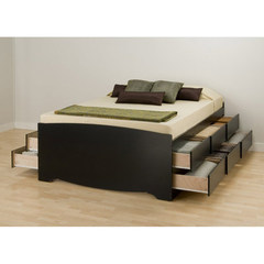 Buy Prepac Tall Double Platform Storage Bed on sale online