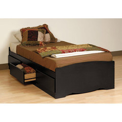 Buy Prepac Twin Platform Storage Bed on sale online