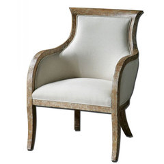 Buy Uttermost Quintus Arm Chair on sale online
