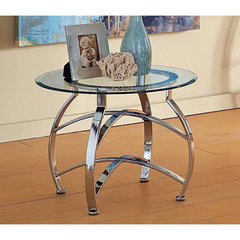 Buy Steve Silver Reno 25 Inch Round End Table on sale online