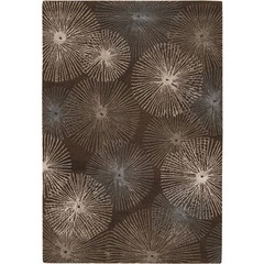 Buy Chandra Rugs Revello Hand-Tufted Contemporary Brown Rug - REV15800 on sale online