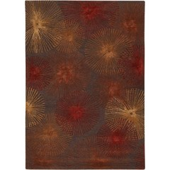 Buy Chandra Rugs Revello Hand-Tufted Contemporary Brown Rug - REV15801 on sale online
