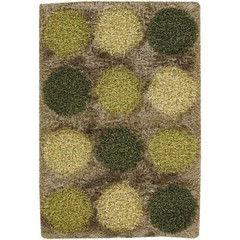 Buy Chandra Rugs Rocco Hand-Woven Contemporary Green Rug - ROC24301 on sale online