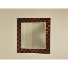 Buy NOVA Lighting Rootbeer Squared 32 Inch Square Wall Mirror on sale online