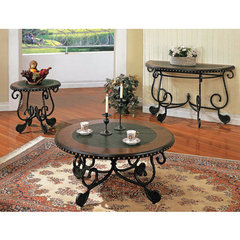 Buy Steve Silver Rosemont 3 Piece Occasional Table Set in Cherry on sale online