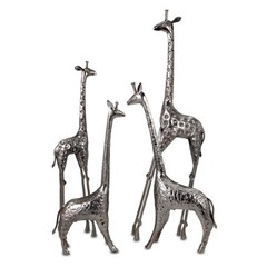 Buy IMAX Worldwide Safari Giraffe Herd (Set of 4) on sale online