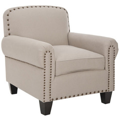 Buy Safavieh Abigail Club Chair in Taupe on sale online