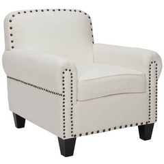 Buy Safavieh Abigail Club Chair in White on sale online