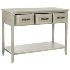 Buy Safavieh Aiden 42x15 Console Table in Antique Grey on sale online