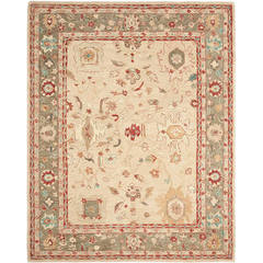 Buy Safavieh Anatolia Traditional Large Rectangular Rug in Beige, Green - AN511A on sale online