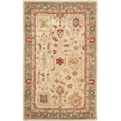 Buy Safavieh Anatolia Traditional Medium Rectangular Rug in Beige, Green - AN511A on sale online