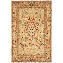 Buy Safavieh Anatolia Traditional Medium Rectangular Rug in Ivory, Beige - AN514A on sale online