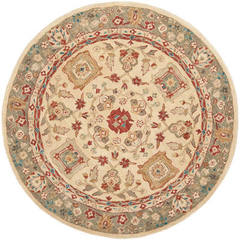Buy Safavieh Anatolia Traditional Round Rug in Beige, Green - AN511A on sale online