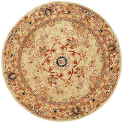 Buy Safavieh Anatolia Traditional Round Rug in Ivory, Beige - AN514A on sale online