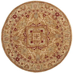 Buy Safavieh Anatolia Traditional Round Rug in Red, Beige, Ivory - AN515A on sale online