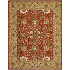 Buy Safavieh Antiquities Traditional Large Rectangular Rug in Autumn Rust, Gold - AT249C on sale online