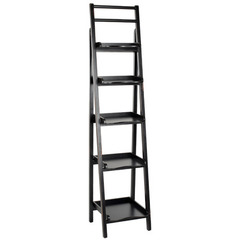 Buy Safavieh Asher 71 Inch Leaning Etagere in Black on sale online