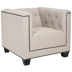 Buy Safavieh Bentley Club Chair in Taupe on sale online