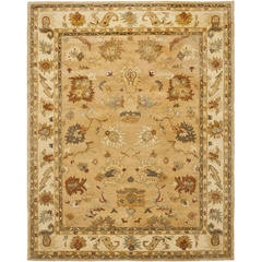 Buy Safavieh Bergama Traditional Medium Rectangular Rug in Taupe, Ivory - BRG136A on sale online