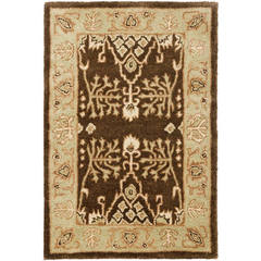 Buy Safavieh Bergama Traditional Small Rectangular Rug in Brown, Green - BRG190B on sale online