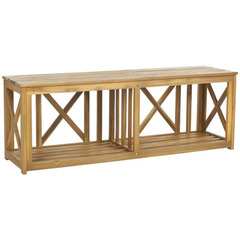 Buy Safavieh Branco Bench in Natural Brown on sale online