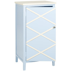 Buy Safavieh Cary Small Cabinet in Light Blue & White on sale online
