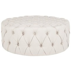 Buy Safavieh Charlene Ottoman in Taupe on sale online