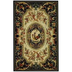 Buy Safavieh Chelsea Country Large Rectangular Rug in Ivory, Black - HK48K on sale online