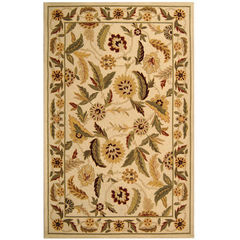 Buy Safavieh Chelsea Country Large Rectangular Rug in Ivory, Green - HK43A on sale online